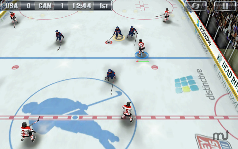 Screenshot 2 for Hockey Nations 2011