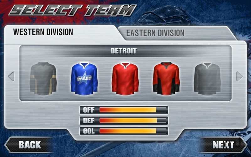 Screenshot 3 for Hockey Nations 2011