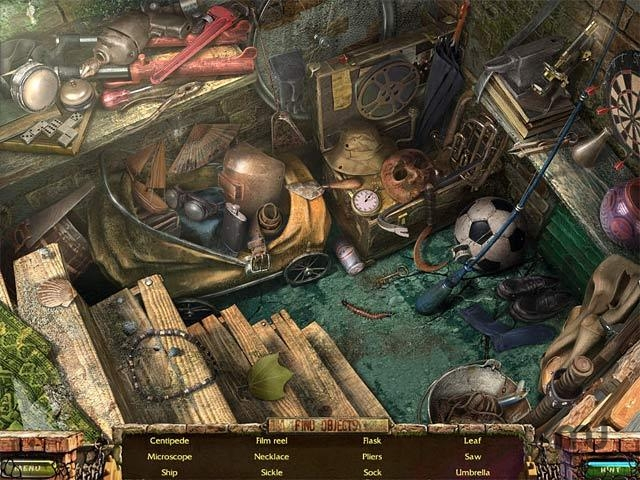 Screenshot 1 for Stray Souls: Dollhouse Story Collector's Edition