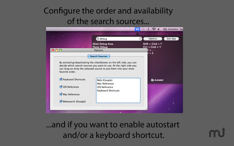 Screenshot 4 for X4Shortcuts