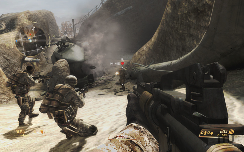 Screenshot 1 for Modern Combat: Domination