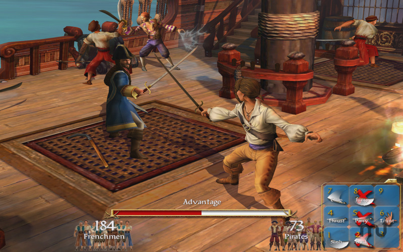 Screenshot 2 for Sid Meier's Pirates!