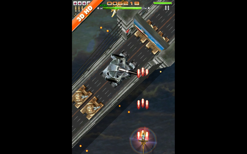 Screenshot 1 for iStriker: Rescue & Combat