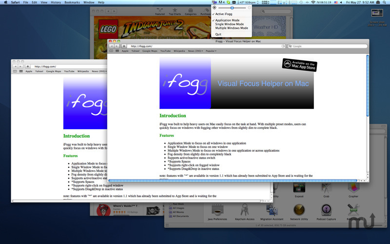 Screenshot 2 for iFogg