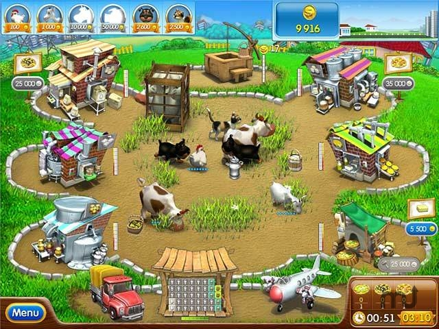 Screenshot 1 for Farm Frenzy Pizza Party