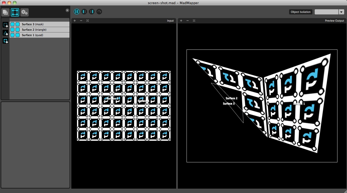 Screenshot 1 for MadMapper