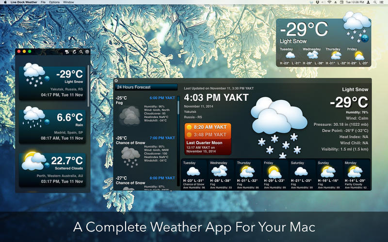 Screenshot 3 for Live Dock Weather