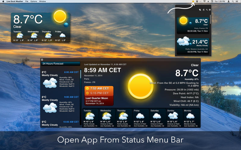 Screenshot 5 for Live Dock Weather