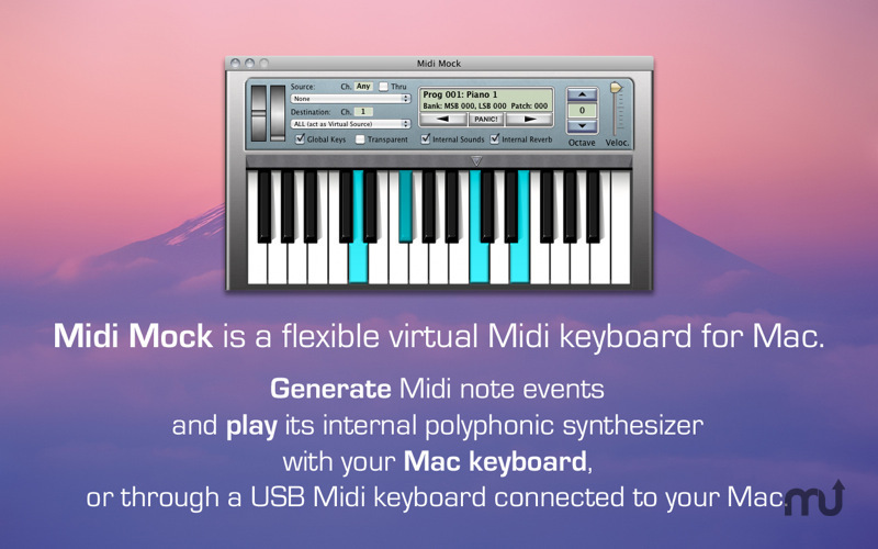 Screenshot 1 for Midi Mock