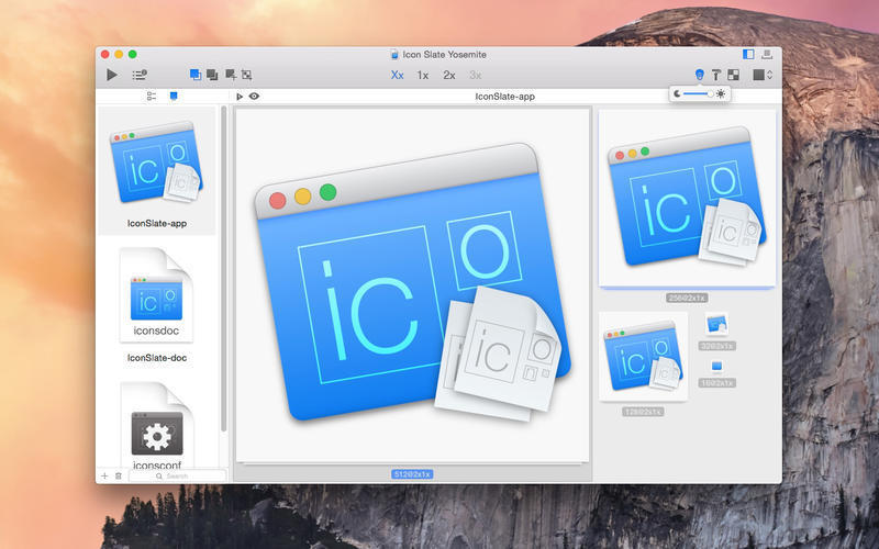 Screenshot 1 for Icon Slate