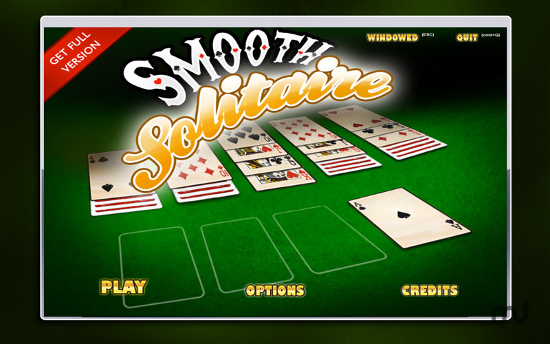 Screenshot 1 for Smooth Solitaire Free!