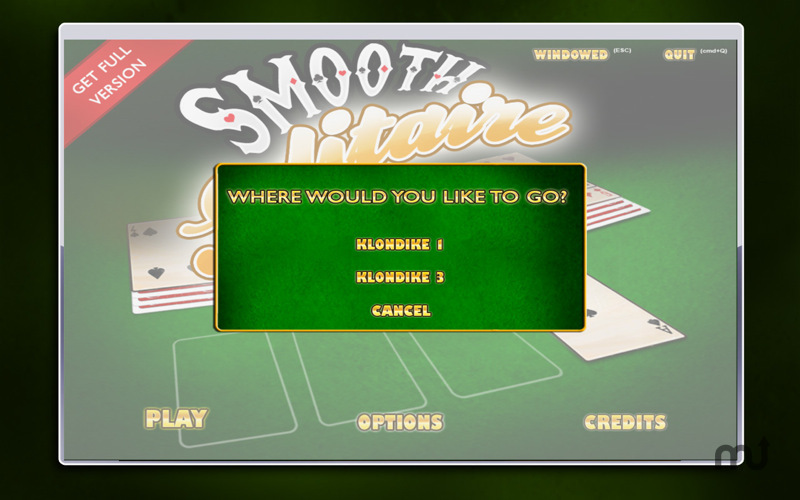 Screenshot 2 for Smooth Solitaire Free!