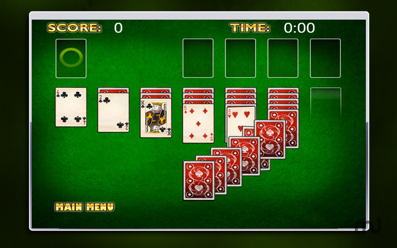 Screenshot 3 for Smooth Solitaire Free!