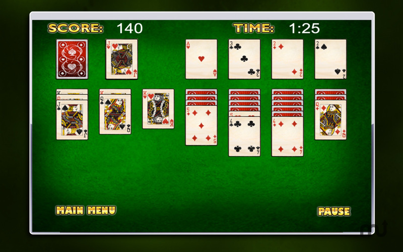 Screenshot 4 for Smooth Solitaire Free!