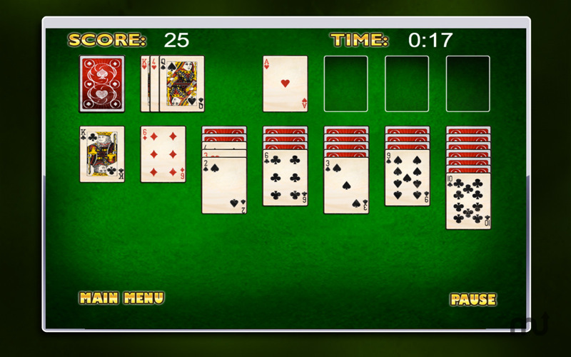 Screenshot 5 for Smooth Solitaire Free!