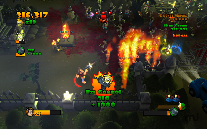 Screenshot 1 for Burn Zombie Burn