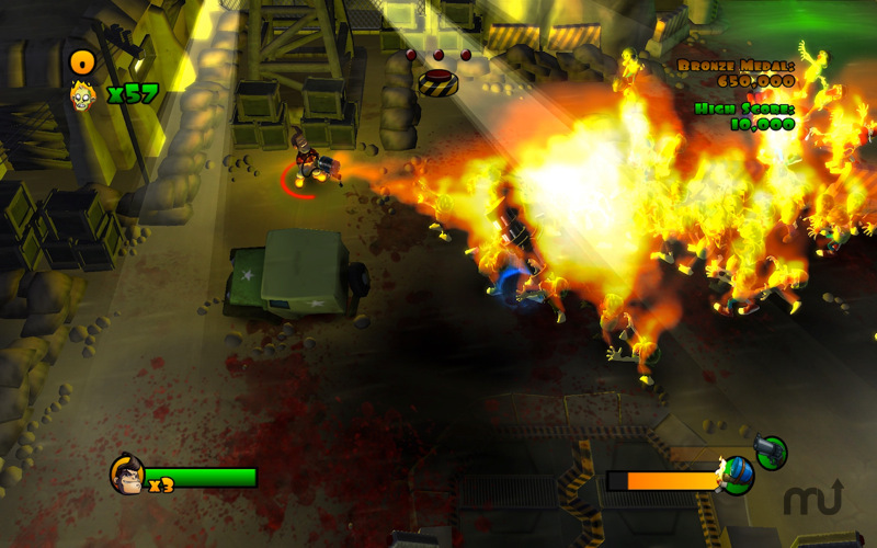 Screenshot 4 for Burn Zombie Burn