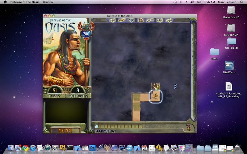 Screenshot 1 for Defense of the Oasis