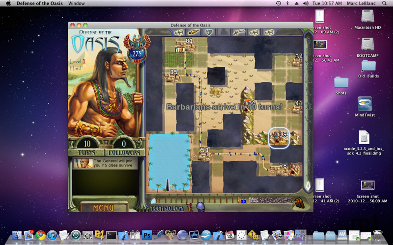 Screenshot 3 for Defense of the Oasis