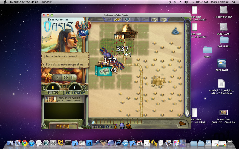Screenshot 4 for Defense of the Oasis