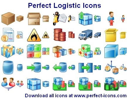 Screenshot 1 for Perfect Logistic Icons