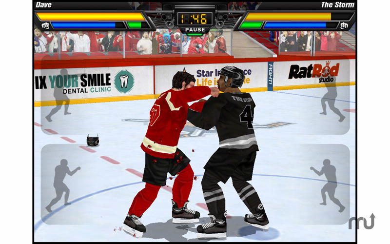 Screenshot 1 for Hockey Fight Pro