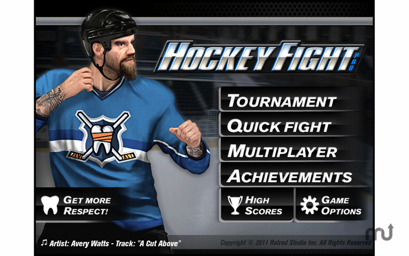 Screenshot 2 for Hockey Fight Pro