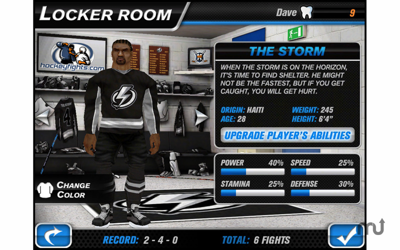 Screenshot 4 for Hockey Fight Pro