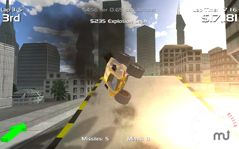 Screenshot 3 for Hard Rock Racing
