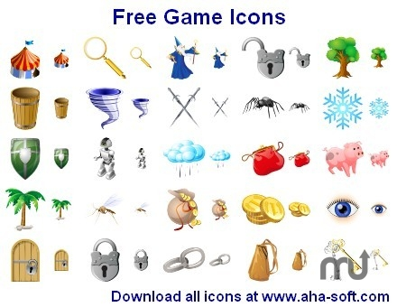 Screenshot 1 for Free Game Icons