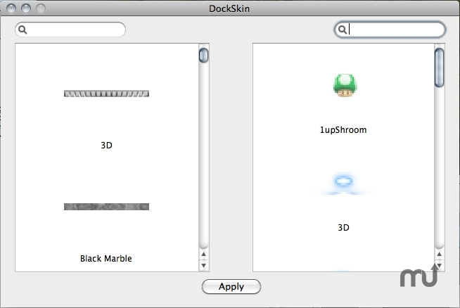 Screenshot 1 for DockSkin