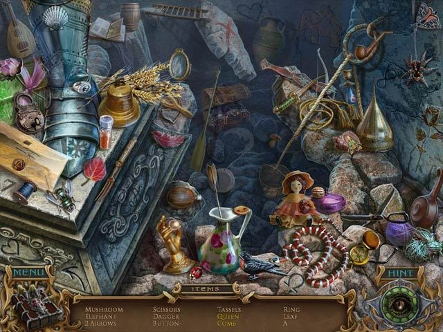 Screenshot 1 for Spirits of Mystery: Amber Maiden Collector's Edition