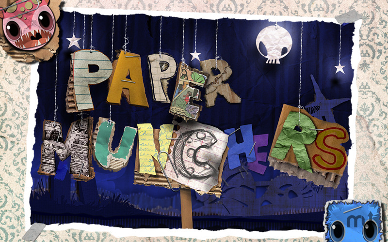 Screenshot 1 for Paper Munchers