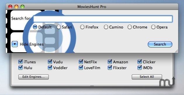 Screenshot 1 for MoviesHunt Pro