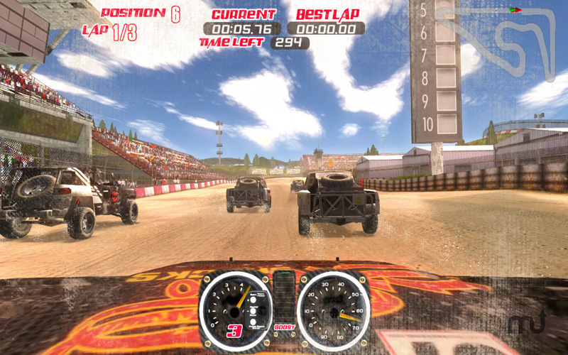 Screenshot 1 for Trophy Truck Extreme