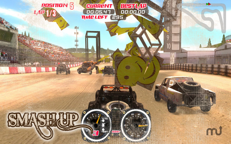 Screenshot 2 for Trophy Truck Extreme