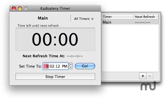 Screenshot 1 for Kadoatery Timer