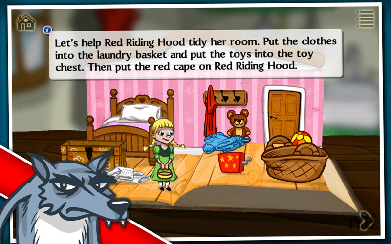 Screenshot 2 for Grimm's Red Riding Hood