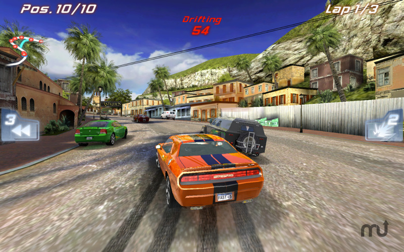 Screenshot 1 for Fast Five the Movie: Official Game