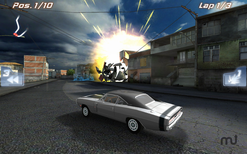 Screenshot 2 for Fast Five the Movie: Official Game