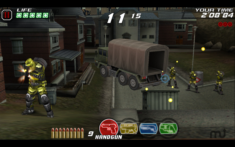 Screenshot 2 for Time Crisis 2nd Strike