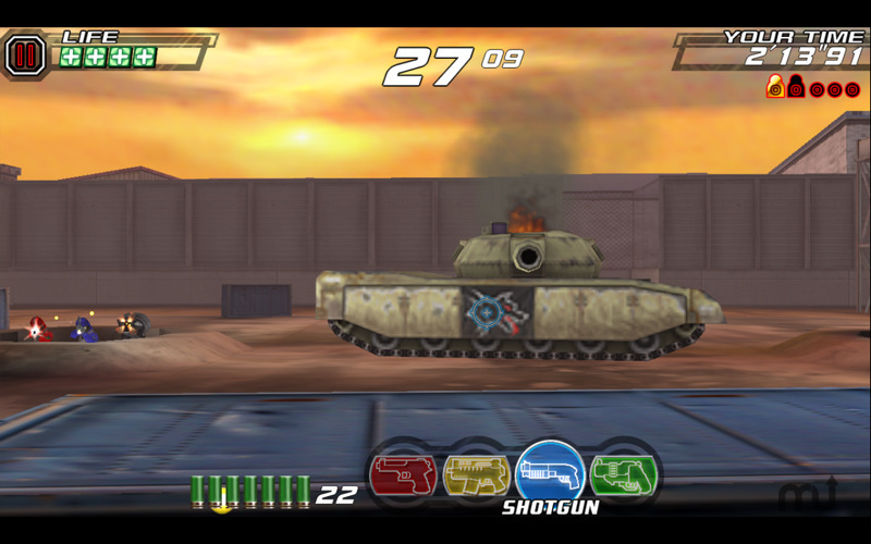 Screenshot 4 for Time Crisis 2nd Strike