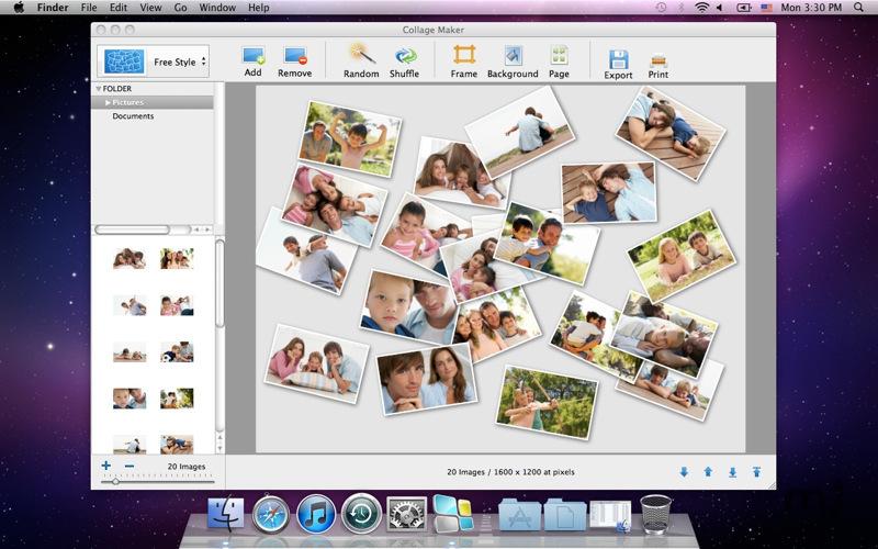 Photo Collage Mac Free Download