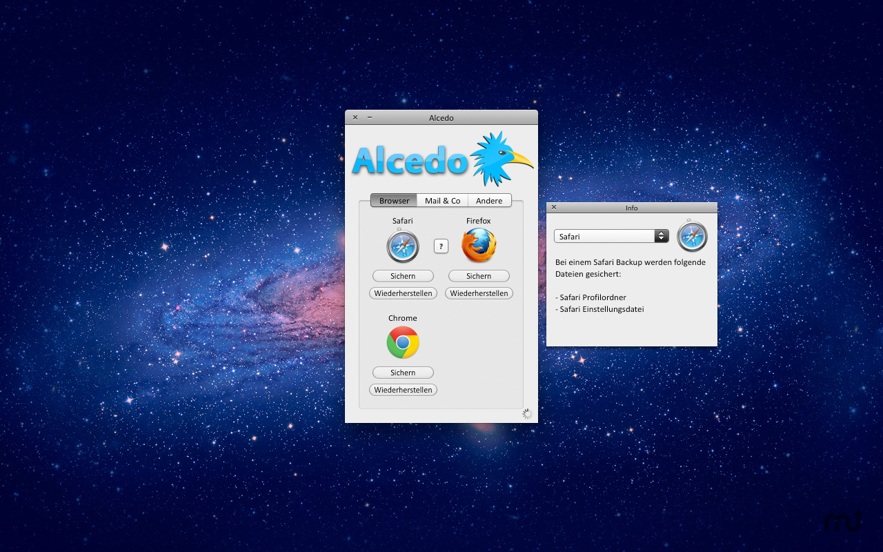 Screenshot 1 for Alcedo