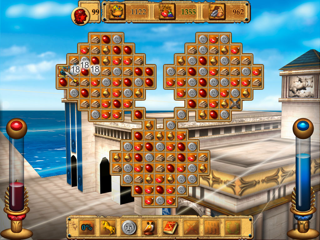 Screenshot 1 for The Legend Of Rome