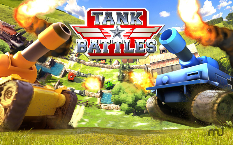 Screenshot 1 for Tank Battles