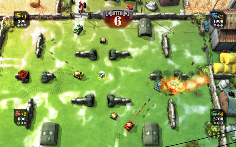 Screenshot 2 for Tank Battles