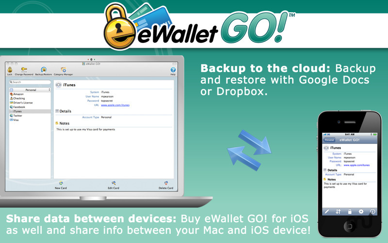 Screenshot 2 for eWallet GO!