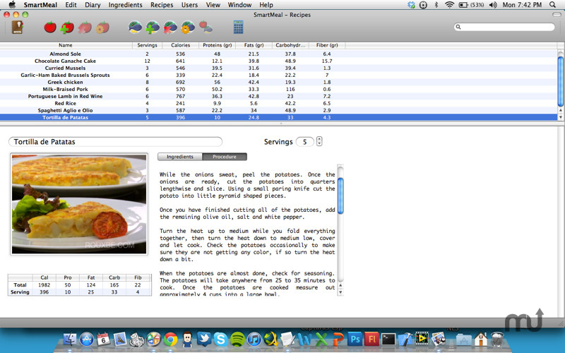 Screenshot 1 for SmartMeal