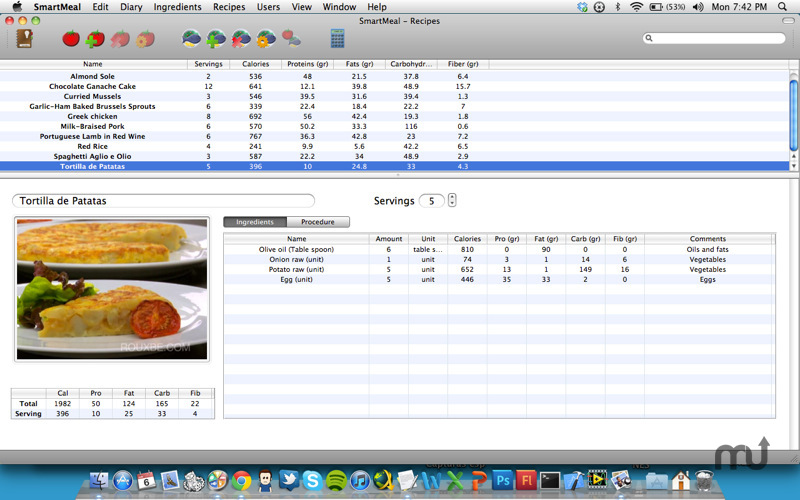 Screenshot 2 for SmartMeal